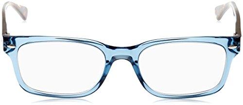 Ray Women's Eyeglasses Trasparent Rx5286 Blue ban Shiny qqCT0rw