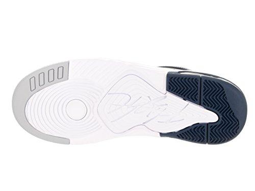 Nike Jordan Flight Origin 3, Zapatillas de Baloncesto para Hombre Azul (Midnight Navy / White)