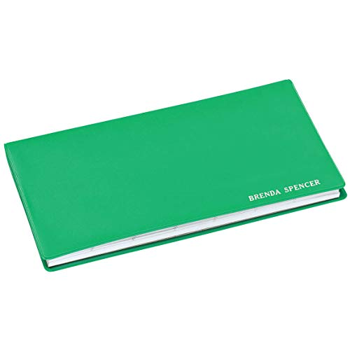 - Personalized Pocket Dater - Grass Green