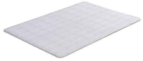 Signature Sleep Ultra Steel Bunkie Board, Premium Metal Frame Design with Cover, White, Full Size