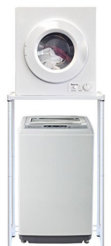 Magic Chef Compact Portable 1.6 cu ft. Top Load Washing Machine Bundle with 2.6 cu ft Front Load Dryer COMBO/SET - 120 Volts, Indoor-Safe + BONUS Indoor Lint Trap Kit