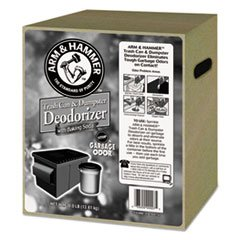 (6 Pack Value Bundle) CDC3320000007 Trash Can & Dumpster Deodorizer, Sprinkle Top, Unscented, Powder, 30 lb by CDC3320000007