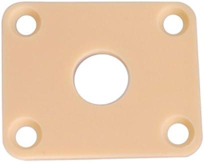 Placas Rectangulares Cuadradas Rectangulares Del Z/ócalo De La Guitarra Para La Guitarra De Lp Epi Blanco