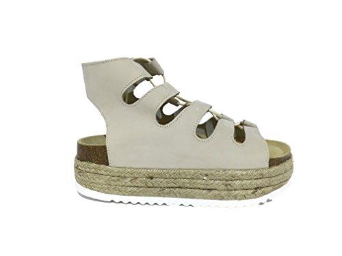 Sandalo Jeffrey Campbell Majorca ES Natural - Size:41