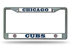 (Seandsf Chicago Cubs Novelty License Plate Frame for Women Men Auto Car Tag Cover)