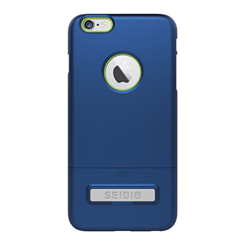 Royal Estate Green (Seidio SURFACE with Metal Kickstand Case for iPhone 6 Plus/6s Plus [Slim Case] - Non-Retail Packaging - Royal Blue/Green)