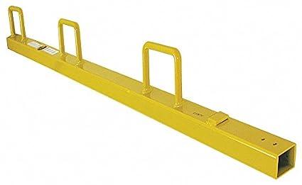 Universal Guardrail Post, 52 In  H - - Amazon com