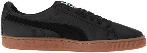 Sneakers Basses Classic Basket Black Mixte Puma Deluxe Gum Adulte IAXpq