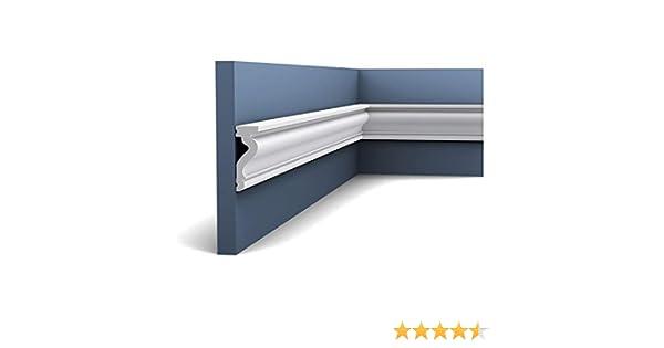 Marco de puerta Orac Decor DX174-2300 LUXXUS Z/ócalo Moldura decorativa pared dise/ño 2,3m