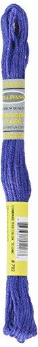 Sullivans Six Strand Embroidery Cotton 8.7 Yards-Dark Cornflower Blue 12 per Box