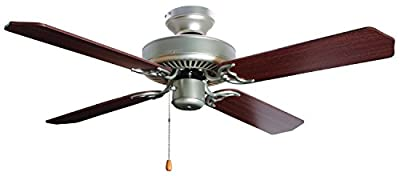 Bala 824094 Five Blade Ceiling Fan, 42-Inch, Brushed Pewter