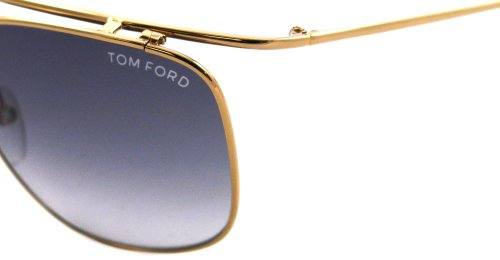 28b De Silver Harry Ford Gold 0192 Soleil Brown Lunettes Tom FSPpWq87