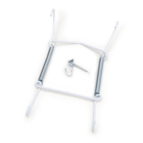 Better Crafts PLATE HANGER EXPANDABLE WHT 5TO7IN (6 pack) (05202-590)