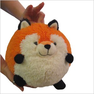 "Squishable / Mini Plush Fox - 7"""