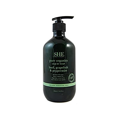 OM SHE Aromatherapy Moisturizing Hand Wash, 500ml Vegan Friendly - Cruelty Free - No Harsh Chemicals