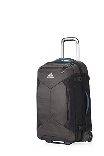 Gregory Split-Case Roller Duffel, Slate Black, 22 L by Gregory