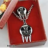 Soul Eater Death The Kid Ring Inspired Pendant Necklace + ring Set