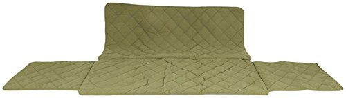 CPC Diamond Quilted Couch Protector, 72-Inch, Sage by Cpc