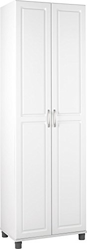 "SystemBuild 24"" Utility Storage Cabinet, White"