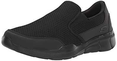 Skechers Equalizer 3.0 - Bluegate Men's Sneakers, Black/Black, 7 US