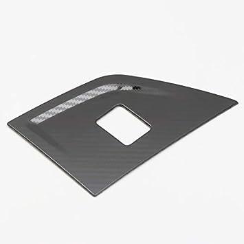 Int/érieur Feu Davertissement Console Centrale Button Cover Trim pour Polo MK6 AW 2018 2019 2020 Pas pour MK5 YUZHONGTIAN Conduite /à Gauche Argent