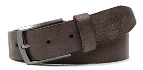 Rawlings Men's Twisted Leather 35mm Belt, Brown, 38