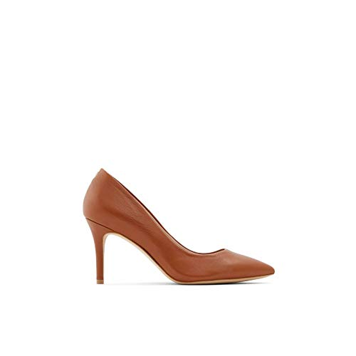 Aldo Women's Dress Shoes with Stiletto Heels, Coroniti in Cognac, size 9 Pump