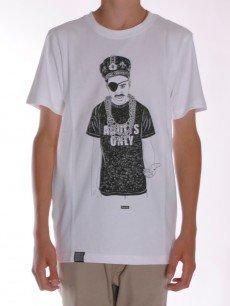 Adult T-Shirt white Größe: S Farbe: white