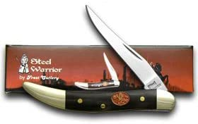 STEEL WARRIOR Buffalo Horn Toothpick Pocket Knife Knives