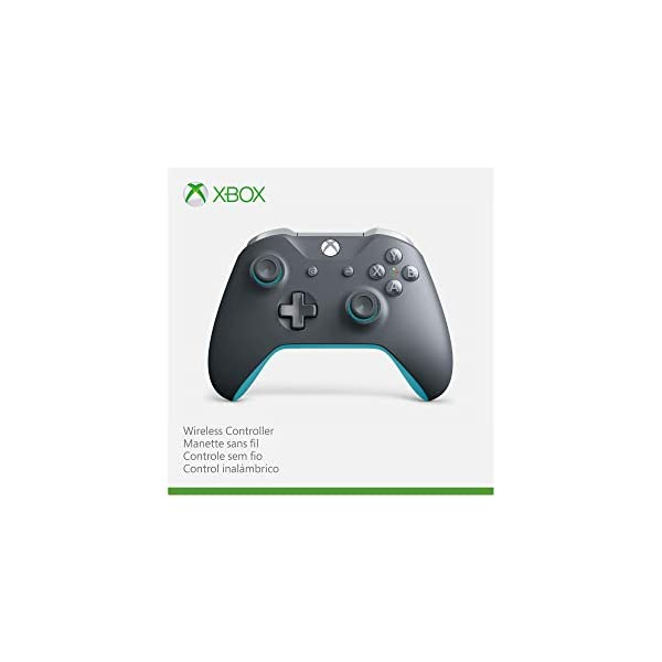 Xbox Wireless Controller - Grey And Blue 5
