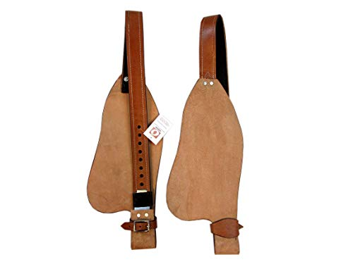 Rough Out Leather Fender Replacement Horse Western Saddle Stirrup Hobble Strap -