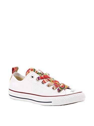 Converse Sneaker All Star Ox Canvas/Txt Ltd Rosso EU 40