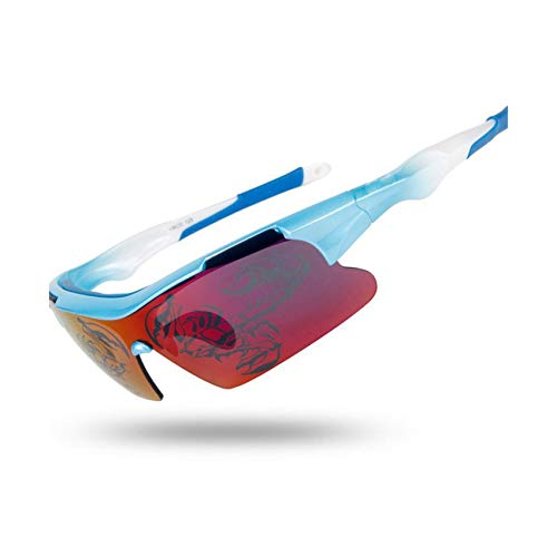Two tigers Polarized Cycling Glasses UV400 Lens ()