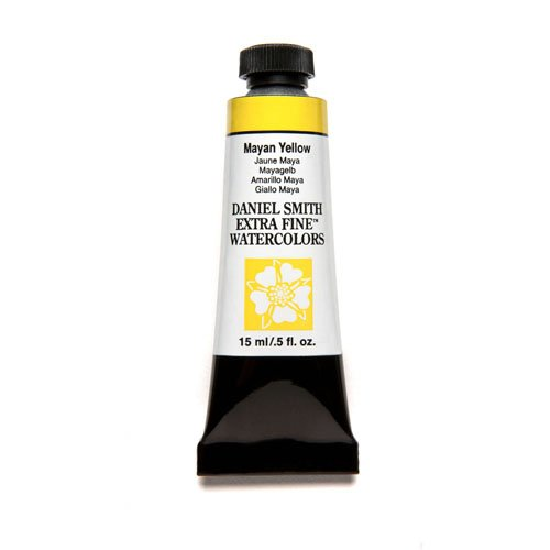 DANIEL SMITH Extra Fine Watercolor 15ml Paint Tube, Mayan Yellow