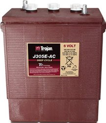 Replacement For J305E-AC 6 VOLT DEEP-CYCLE FLOODED BATTERY - WITH T2 TECHNOLOGY 902 305AH - Cycle 6v Deep Ac