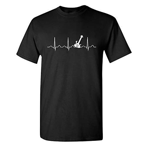 Wingzoo Mens T Shirt-Guitar Music Novelty Funny Graphic Fashion Adult Tee -