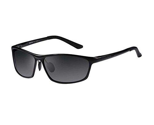 Flash Lightweight glasses sunglasses polarizer aviation aluminum-magnesium - 160mm Sunglasses
