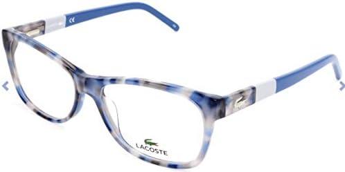 Lacoste L2691 215 53 Monturas de gafas, Azure Havana, Unisex-niños: Amazon.es: Ropa y accesorios