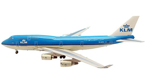 "Jet-X 1/200 KLM 747-400 ""Atlanta"" PH-BFA Model Kit"
