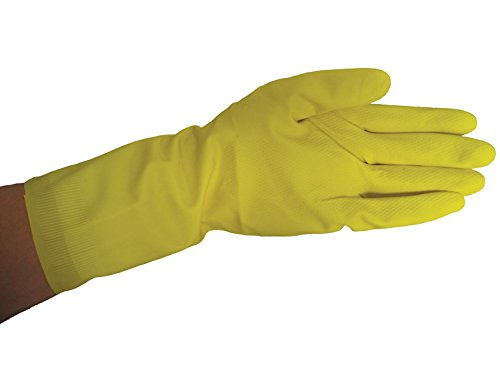 Large For Extended Use with Resin and Solvents 1 Dozen Pairs Flock-Lined Latex Gloves Fibre Glast