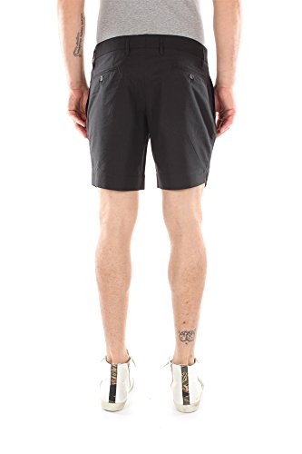 G34NCXFB6BWS8053 Dolce&Gabbana Shorts Hombre Algodón Negro Negro