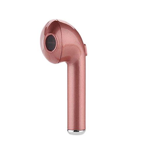 Cewaal Bluetooth Earbud Mini Wireless Headset In-Ear Earphone for iPhone 7/7 plus 6s/6s plus Samsung (single left (Channel 4 News Halloween)