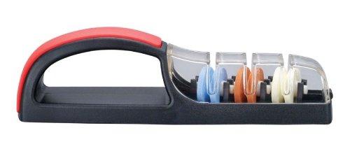 Minosharp Plus 3 Keramik Handschleifer 550BR rot-schwarz