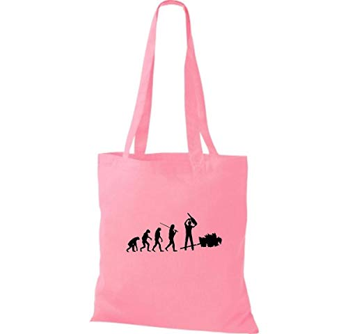 Algodón Rosa Mujer Para Shirtinstyle De Tela Bolso UYZtw