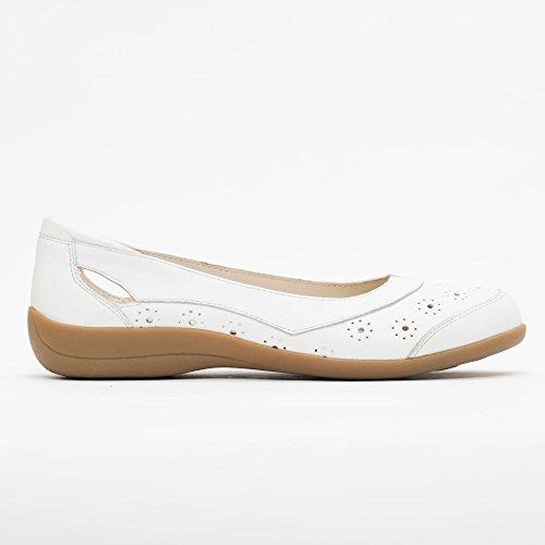 Padders blanco para mujer blanco Bailarinas blanco Piel de SqSAr