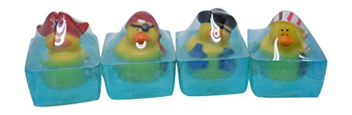 Heartland Fragrance  Handmade Glycerin Pirate Toy Soap Bar with a Gift Box, 5 oz (Pack of 4) ()