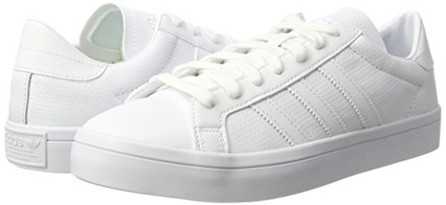 Blanc Adidas Hommes Courtvantage Sneakers chaussures Chaussures Blancs Pour Blanc xFqaOwYF