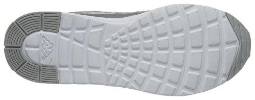 Sneaker Silber Kappa Damen Milla Shine (argento 1510 / Bianco)