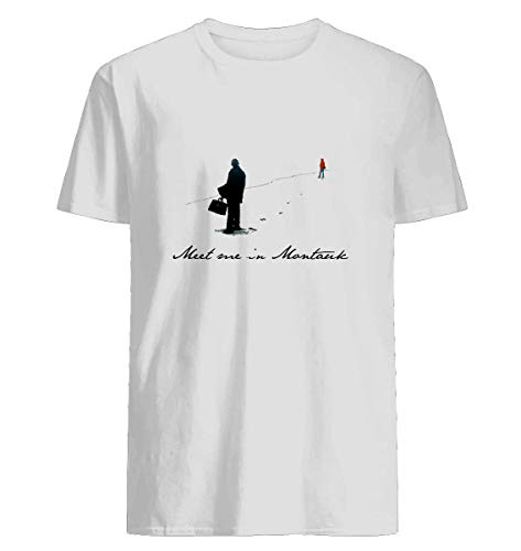 (Meet Me in Montauk- 42 Cotton short sleeve T shirt, Hoodie for Men Women Unisex)