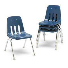 (Virco 9000 Series Classroom Chairs, 16